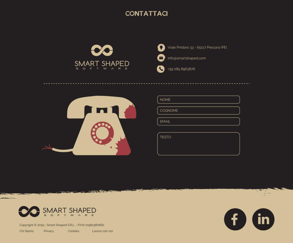 Sito web - contatti