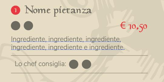 Elemento del menu